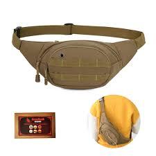 BraveHawk <b>OUTDOORS Tactical</b> Waist Bag, 900D <b>Nylon</b> Oxford ...
