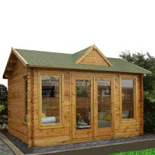 cabinets uk cabis: forest garden alderley mm log cabin ft quot x ft quot  x  m uninstalled