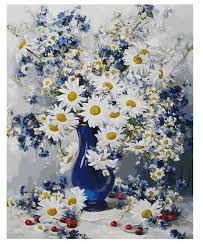 """<b>Белоснежка Картина по номерам</b> """"Любимые цветы"""" 40х50 см ..."""