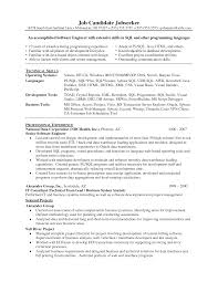 test engineer resume   seangarrette cosoftware developer job description sle resume