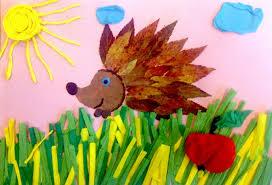 Znalezione obrazy dla zapytania zwierzęta jesienią obrazki dla dzieci