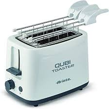 Ariete 157 Toaster for Two Slices Qubi toaster-157, White: Amazon ...