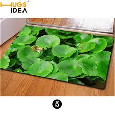 print mat carpet bathroom washable d zoo animals front entrance carpets cool owl green plants floor mat a