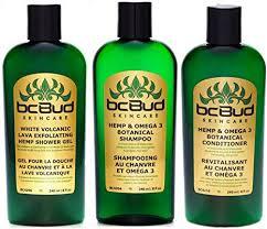 BC Bud Natural <b>Hemp</b> Shampoo <b>&</b> Conditioner <b>&</b> Exfoliating Body ...
