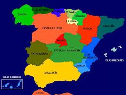 Resultado de imagen de españa europa mapa