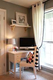 a cute office nook the dapper bun website chic corner office desk