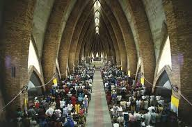 Photograph People attend a Christian church in Brazzaville  Republic of the Congo  Kids Britannica