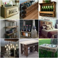 50 trendy reclaimed wood furniture and decor ideas for living green barn wood furniture ideas