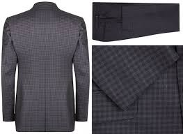 tom ford oconnor small check three piece suit check small