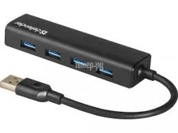 Купить <b>Хаб USB Defender Quadro</b> Express USB 3.0 4-ports 83204 ...