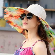 GEERSIDAN <b>2018 Summer</b> large brim beach <b>sun</b> hats for women ...