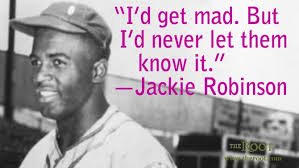 Best Black History Quotes: Jackie Robinson on Willpower - The Root via Relatably.com