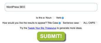 Catchy essay titles generator   sludgeport    web fc  com ShoutMeLoud