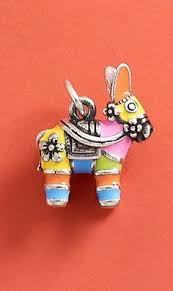 Enamel Piñata <b>Charm</b> | <b>Pop</b> of Color in 2019 | Fabric <b>jewelry</b> ...