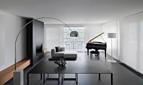 modern minimalist living room dining table