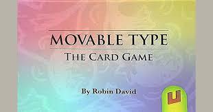 Movable <b>Type</b> | Board <b>Game</b> | BoardGameGeek