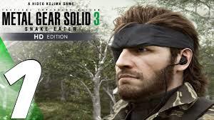 <b>Metal Gear Solid 3</b> HD - Gameplay Walkthrough Part 1 - Snake Eater