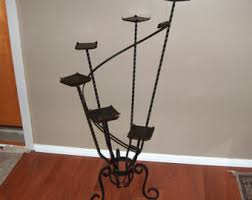 p7583 antique large victorian black wrought iron plant stand tiered steps perfect inside or outside patio garden vintagewya furniture antique rod iron patio
