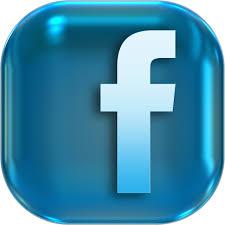 Image result for facebook logo button