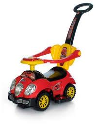 Детская <b>каталка Baby Care</b> Cute Car 558W. Расцветки внутри + ...