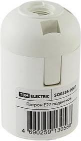 SQ0335-0007, <b>Патрон Е27 подвесной</b>, термостойкий пластик ...