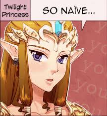 Not enough INT | Zelda's Reaction | Know Your Meme via Relatably.com