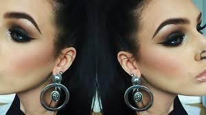 the perfect black to brown smokey eye makeup tutorial