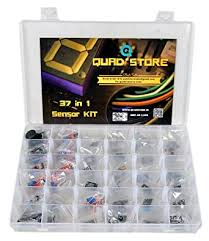 Quad Store(TM) - 37 in 1 <b>Sensor Modules Kit</b> compatible with ...