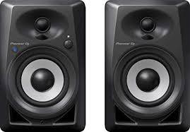<b>Pioneer</b> DJ <b>DM</b>-<b>40BT</b> Bluetooth Desktop Monitors (Pair), Black ...
