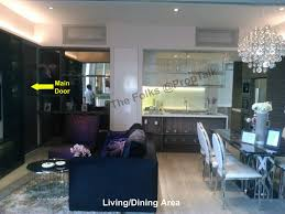 the kitchen is self contained and very good sized the developers have gotten it right by dispensing with a dry kitchen area as the apartment can ardmore 3 fung shui good