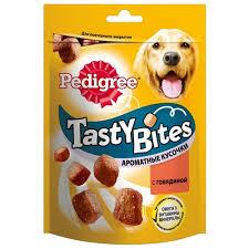 <b>Лакомство</b> для собак <b>pedigree tasty bites</b> ароматные кусочки с ...