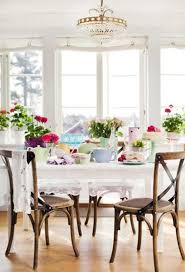 Country Dining Room Dining Room Decor Ideas Inspired By Spring Itself Country Dining