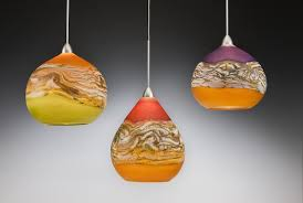 strata pendant lights by danielle blade and stephen gartner art glass pendant lamp art glass lighting fixtures
