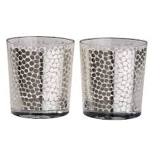 Очень красивые стаканы Esperanza с серебряным декором ...