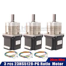 23hs5128 neam23 <b>3PCS</b> 57X51MM Extruder <b>Gear Stepper Motor</b> ...