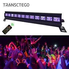 <b>Purple LED Par Blacklight</b> UV Disco DJ Light Laser Stage Light 6/9 ...