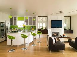Living Room And Kitchen Green Kitchen Cabinets Pictures Options Tips Ideas Hgtv