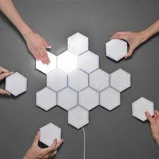<b>New</b> Touch Sensitive Colorful Modular <b>Quantum Lamp</b> / LED Night ...