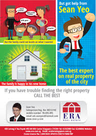 bold colorful flyer design for sean yeo by jcr design 2429857 flyer design by jcr for singapore property agent wants to stand out from the rest