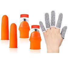 <b>9 Piece Garden</b> Silicone Thumb Knife Separator Finger Protector ...