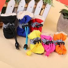 4Pcs/Set <b>Dog Cat Winter</b> Warm Rain Boots Protective <b>Pet</b> Sports ...