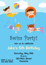 swim party invitations gangcraft net swim party invitations theruntime party invitations