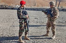 u s department of defense photo essay a u s ier explains operating procedures for security to an afghan national army ier on lightning