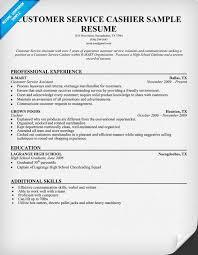 customer service  cashier resume sample   resume samples across    customer service  cashier resume sample   resume samples across all industries   pinterest   resume  customer service and resume examples