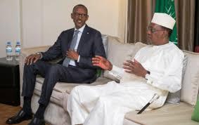 Deby et Kagame sont à Conakry
