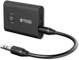 TROND <b>2-in-1</b> Bluetooth V5.0 Transmitter Receiver/Wireless <b>3.5mm</b> ...