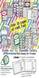 best images about charlie and the chocolate factory unit on charlie and the chocolate factory ccss math games printables differentiated