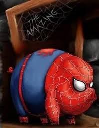 El sorprendente chancho araña