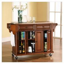 mobile kitchen island with seating
