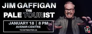 <b>Jim Gaffigan</b>: Pale Tourist <b>Tour</b> - Avenir Centre